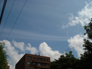 Chemtrail - parallel trails