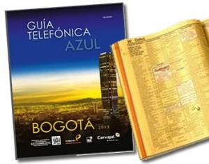 directorio telefonico de bogota: