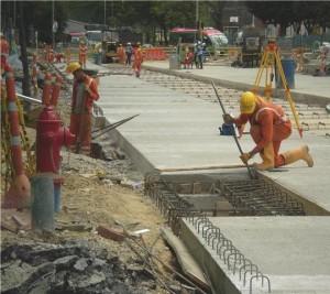 Obras de infraestructura en Bogotá
