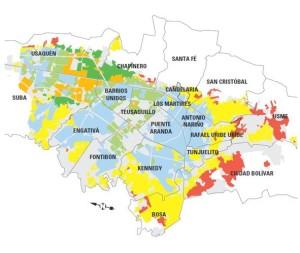 Barrios de bogota estos son los 149 sitios m s for Barrio el jardin cali colombia