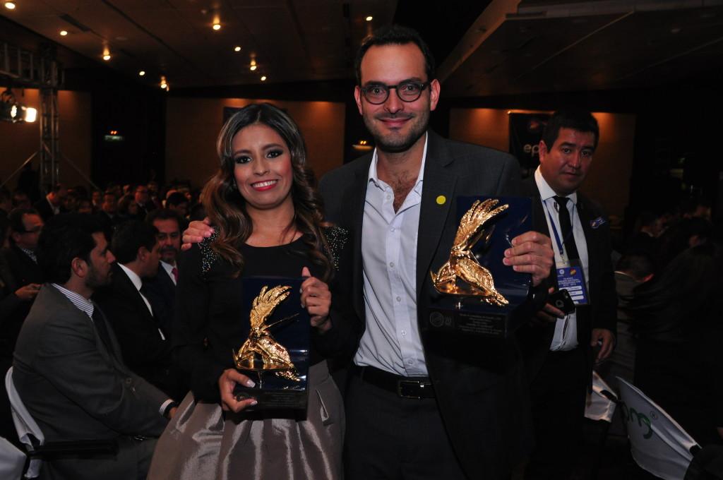 Bibiana Bello y Diego Rubio